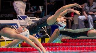 Malika Gobet s'illustre en signant un nouveau record suisse à la Swim Cup