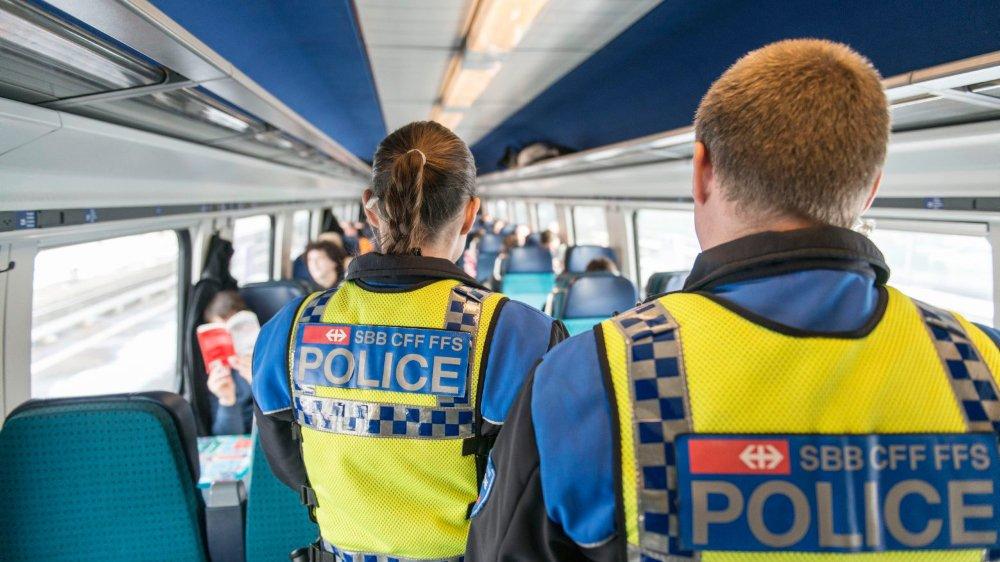 Police des trains à muscler