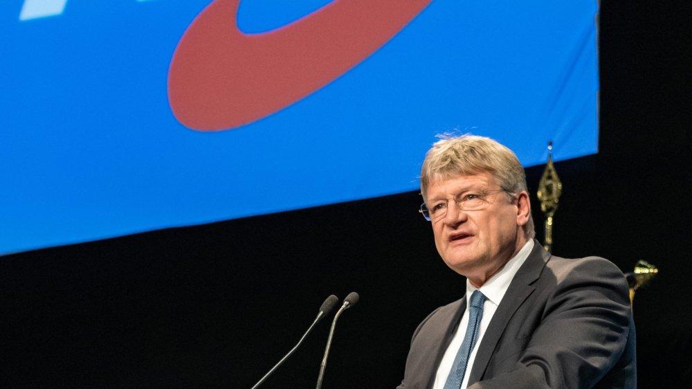 Signe du tiraillement qui frappe l'AfD, sa tête de liste pour les élections européennes du mois de mai, Jörg Meuthen, n'a pas voulu s'engager pour la sortie de l'Allemagne de l'Union européenne.