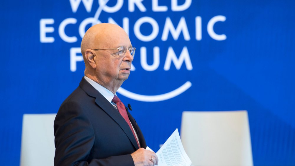 Le fondateur du WEF, Klaus Schwab, hier, à Cologny (GE).