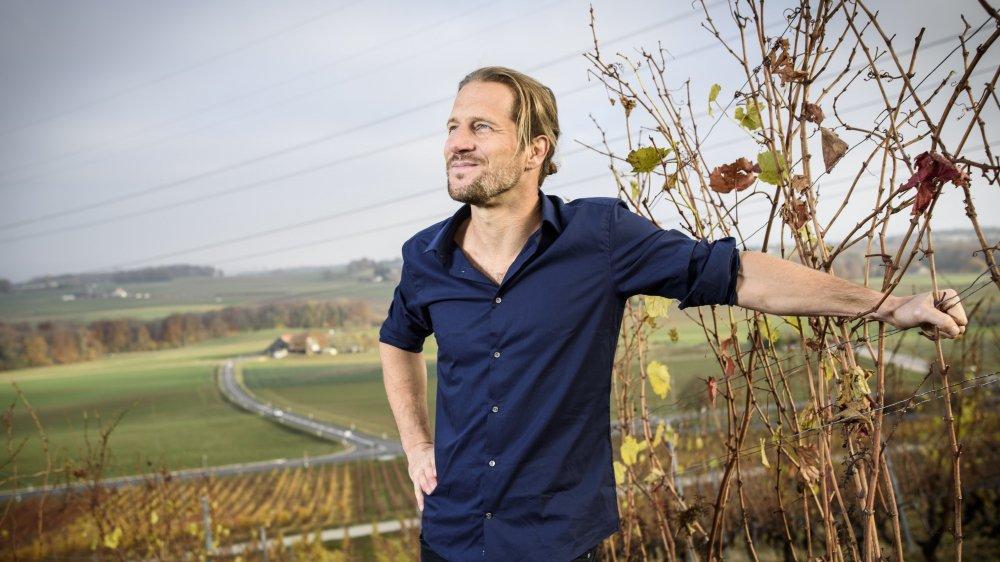 Blaise Hofmann vit de sa passion pour l'écriture depuis quatre ans. Il est le co-librettiste de la Fête des vignerons.