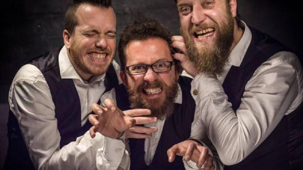 Rejoignez Les Petits Chanteurs à la Gueule de Bois pour un concert plein d'humour au Backstage pub de Gland.