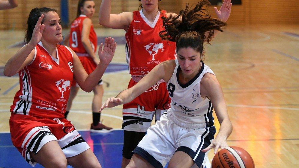 Pauline Bonacorsi et les Nyonnaises ne croiseront plus la route de DEL Basket durant cette phase intermédiaire.