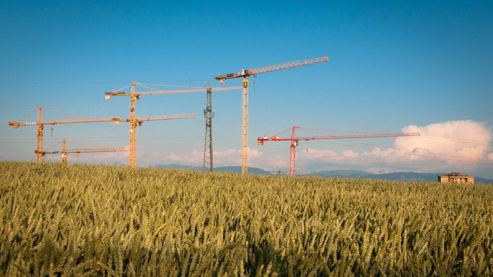 Dans le district de Nyon, certaines communes se développeront plus que d'autres.