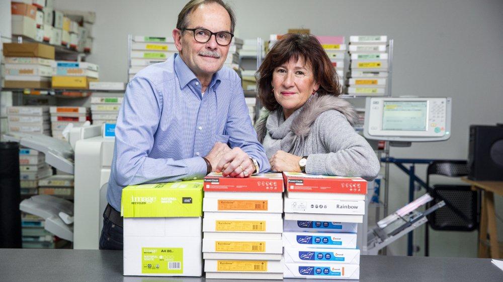Grégoire Villard a créé hélioexpress en 1980, avec le soutien de son épouse Judith.
