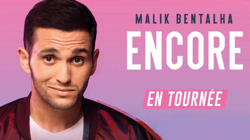 """L'humoriste présentera son second spectacle intitulé """"Encore""""."""