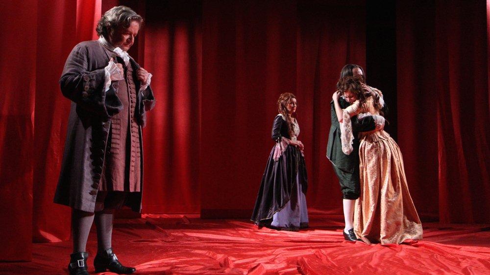"""La pièce """"Ombres sur Molière"""" sera jouée au Théâtre de Grand-Champ, à Gland."""