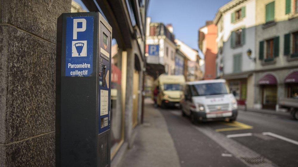 A la rue de Rive, le dysfonctionnement de ce parcmètre n'est pas passé inaperçu!