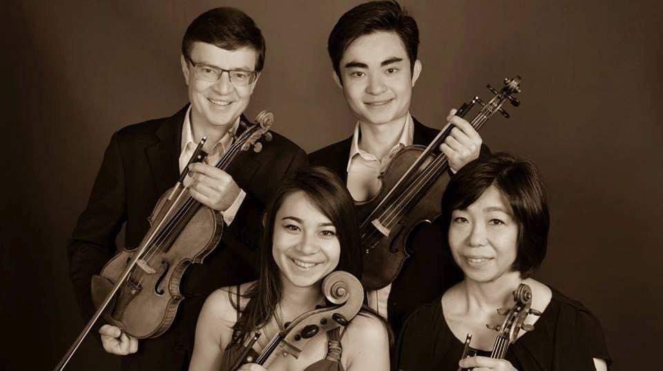 Le quatuor à cordes Stuller, formé de quatre membre d'une même famille, s'associera au quatuor Sine Nomine pour un concert à Gland.