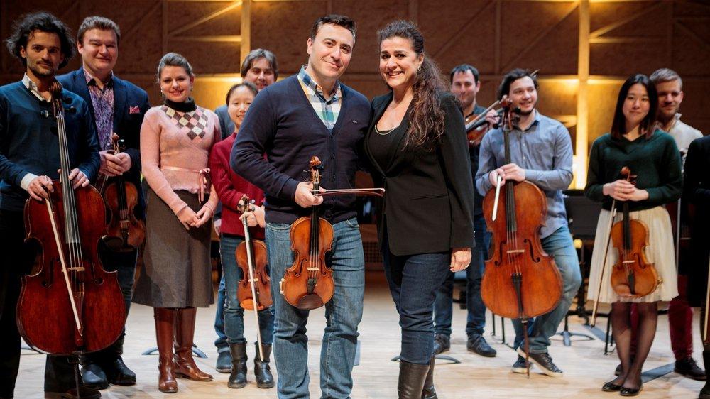 Comme en 2017, Cecilia Bartoli et Maxim Vengerov seront les vedettes de ce concert de gala.