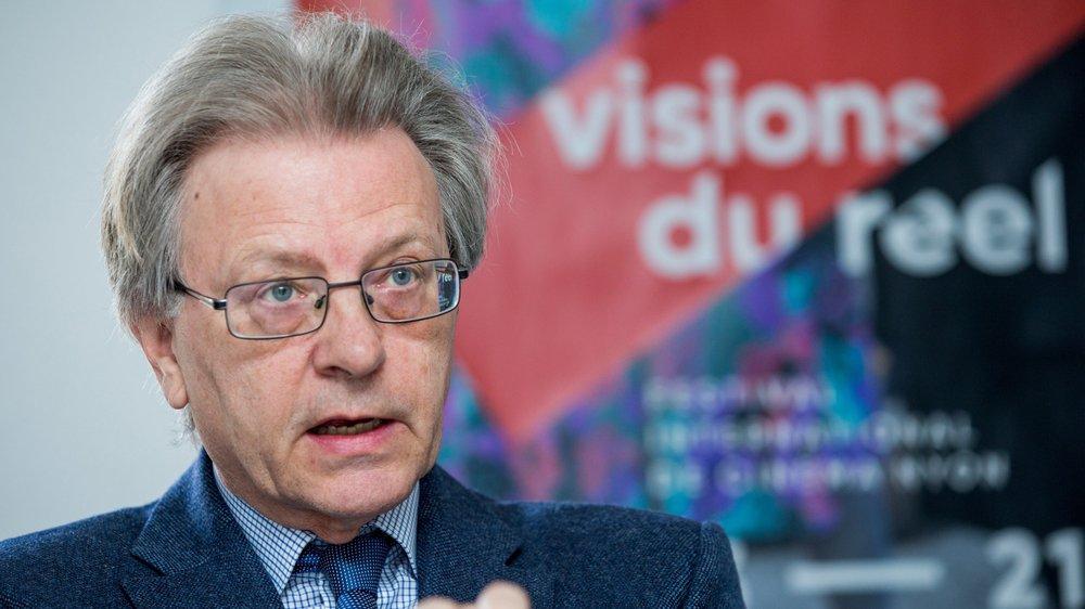 Claude Ruey est entré au comité du festival en 2004.