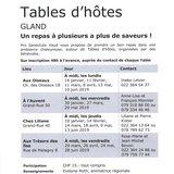 """Table d'hôtes """"Aux Trésors des îles"""" à Gland"""