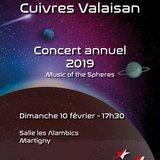 Concert annuel de l'Ensemble de Cuivres Valaisan