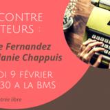 Rencontre d'auteurs : Carine Fernandez et Mélanie Chappuis