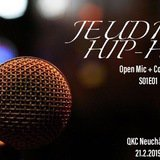 Jeudred'hip-hop /// Open Mic