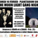The Moon Light Ganag Night