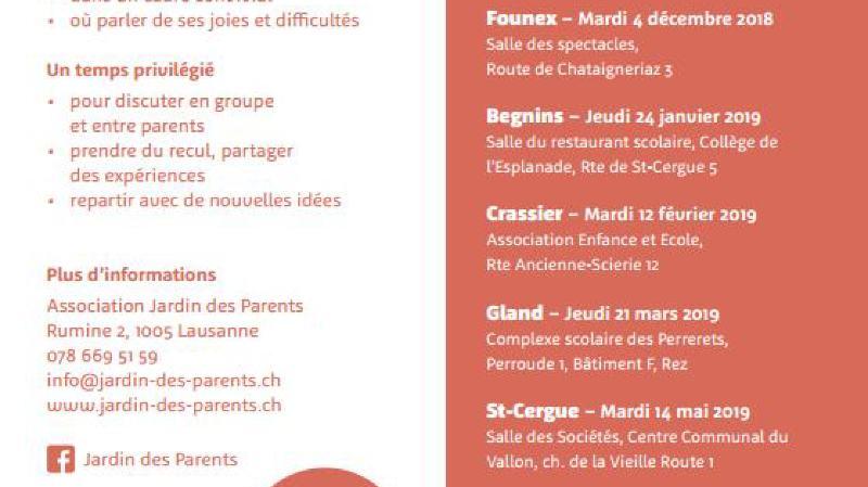 Jardin des parents de La Côte