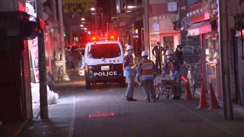 Selon les médias japonais, l'automobiliste a touché en tout neuf personnes dans la rue Takeshita.