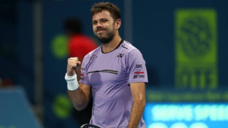 Tennis: Stan Wawrinka a franchi le 2e tour du tournoi de Doha