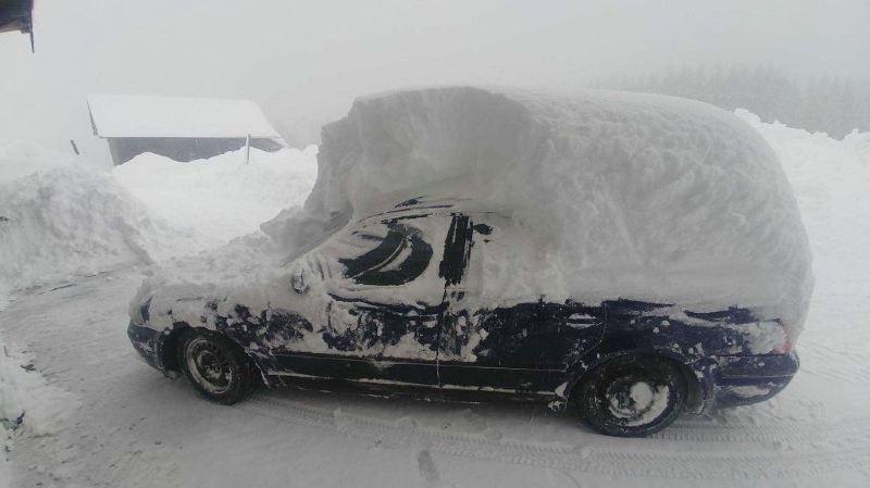 Depuis le milieu de la semaine dernière, il est tombé jusqu'à 150 centimètres de neige fraîche dans le centre et le nord de l'Autriche.