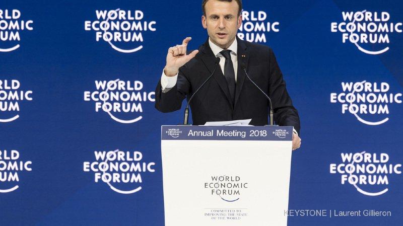 Présent en 2018 dans les Grisons, Emmanuel Macron a annulé sa venue cette année (archives).