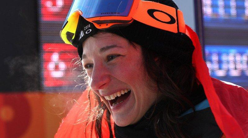 La championne olympique de 28 ans s'est imposée à Font Romeu dans le concours de slopestyle.