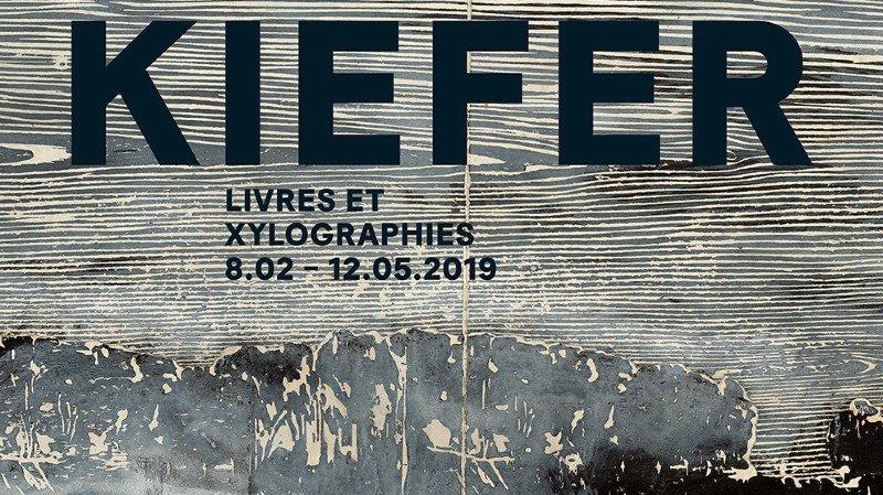 Vernissage Anselm Kiefer | Livres et xylographies