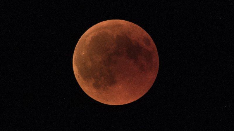 En juillet dernier, on avait pu assister à la plus longue éclipse lunaire du siècle (archives).