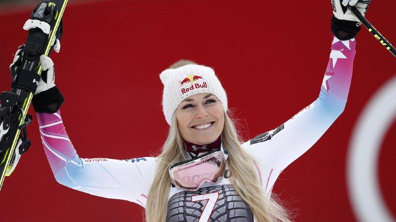 Ski alpin: Lindsey Vonn sera au départ de la descente et du super-G de St-Anton
