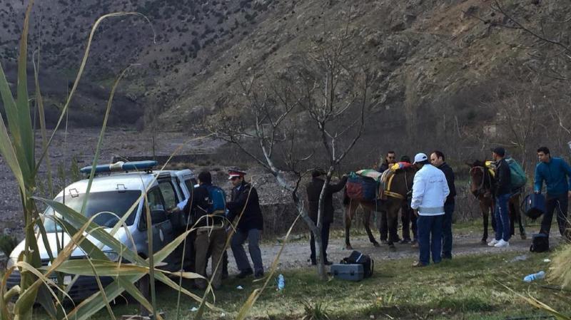 Le suspect arrêté pour le meurtre des deux jeunes femmes faisait partie d'un groupe terroriste.