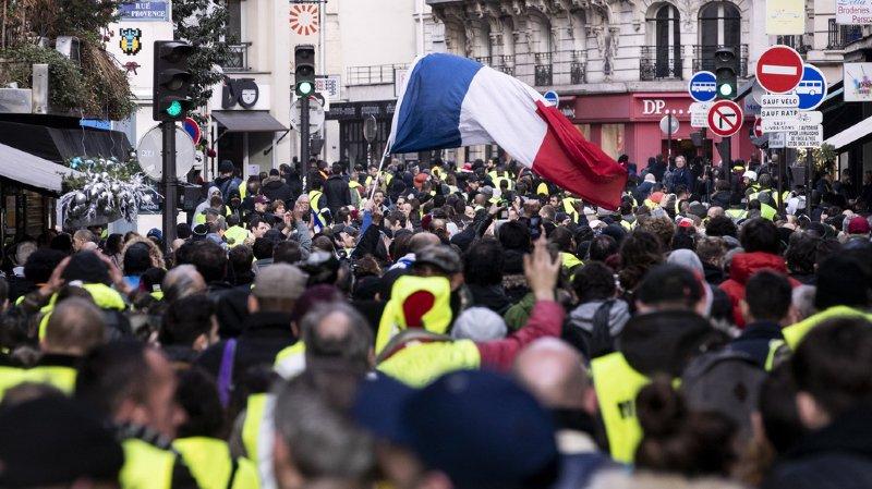 France: 50'000 ''gilets jaunes'' descendent dans les rues des grandes villes pour la huitième fois