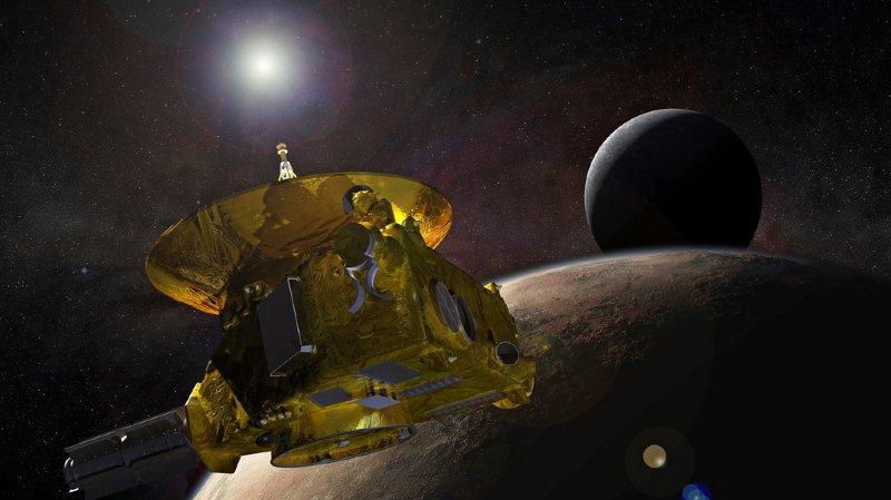 Ultima Thule se trouve à quelque 6,4 milliards de kilomètres de la Terre.