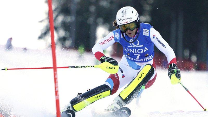 Ski alpin: Holdener 4e après la 1re manche du slalom de Semmering, Shiffrin en tête