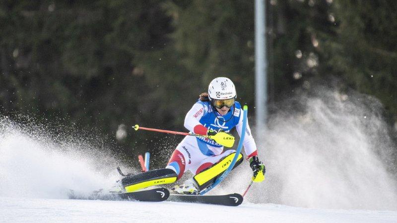 Ski alpin: Holdener décroche la 3e place au slalom de Semmering, victoire de Shiffrin