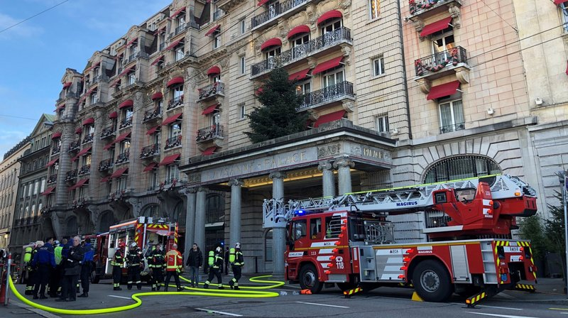 L'incendie s'est déclaré ce lundi 31 décembre.