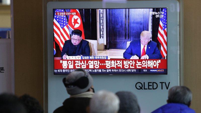 """Le leader nord-coréen a déclaré qu'il était disposé à rencontrer M. Trump à tout moment afin de """"produire des résultats qui seront salués par la communauté internationale""""."""