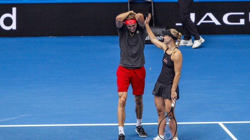 Alexander Zverev et Angelique Kerber feront figure de favoris face à Belinda et Roger.