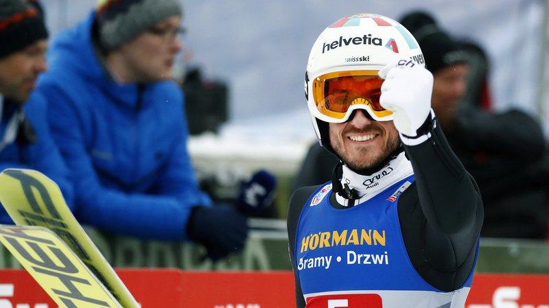 Saut à ski - Tournée des 4 tremplins: premier top 10 pour le Vaudois Killian Peier à Innsbruck
