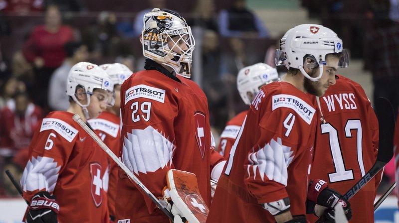 Les Suisses ont subi la loi des Finlandais et joueront la petite finale.