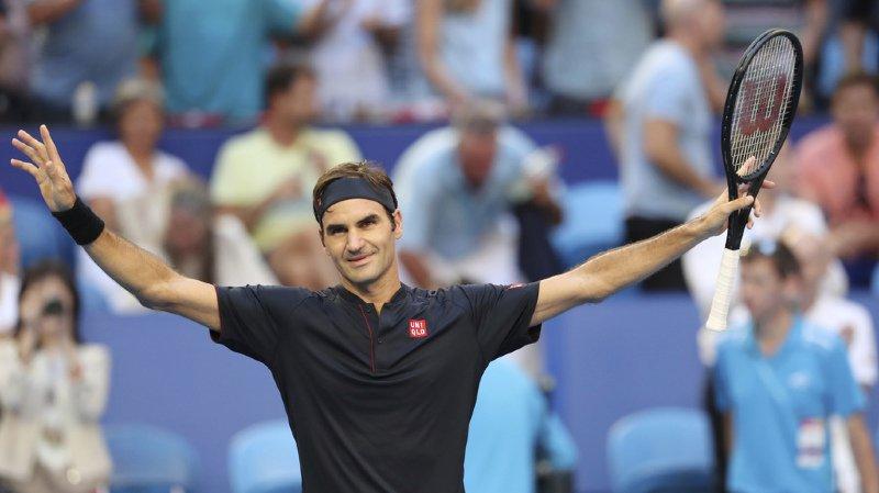 Roger Federer évoque ses plans d'avenir mais aussi sa routine d'entraînement, qui le rend si confiant pour prétendre s'imposer dans des tournois en 2019.