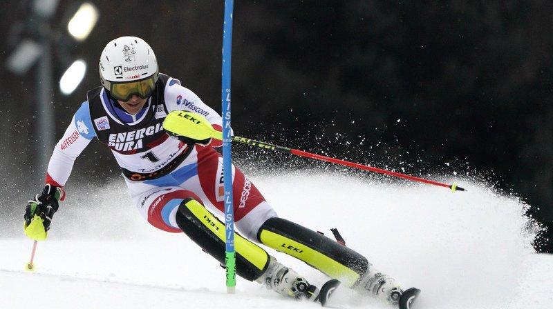 Ski alpin: Holdener 2e après la 1re manche du slalom de Zagreb, l'Américaine Shiffrin en tête