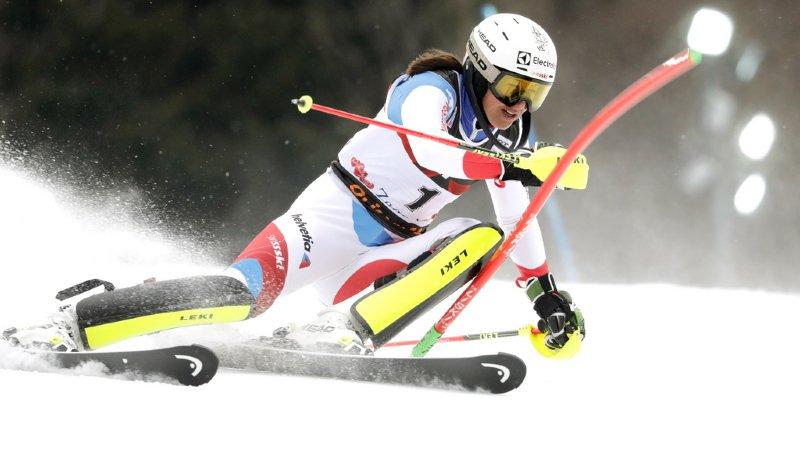 Ski alpin: Holdener termine 3e du slalom de Zagreb, victoire de Shiffrin