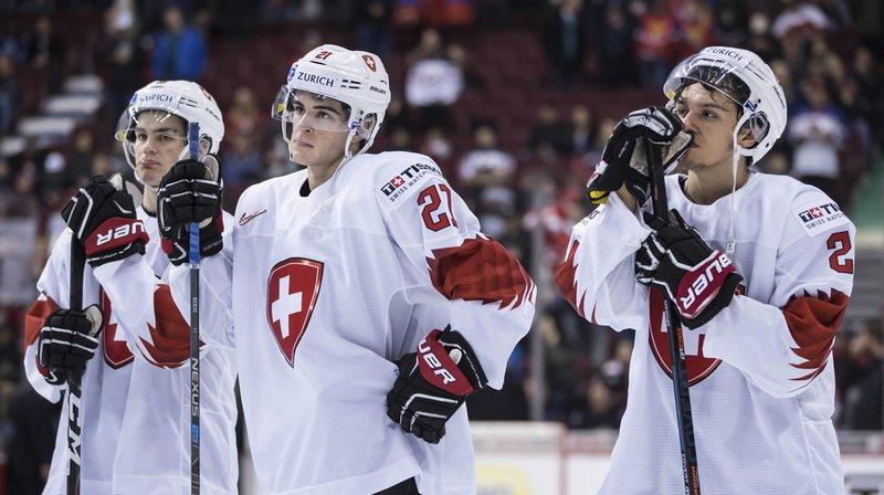 Hockey – Mondiaux M20: vaillants, les jeunes Suisses terminent 4e du tournoi