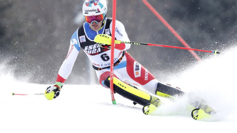 Ski alpin: les Suisses décevants au slalom de Zagreb, le maître Hirscher l'emporte