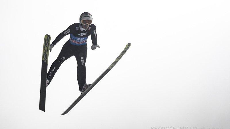 Saut à ski - Tournée des 4 tremplins: le Vaudois Killian Peier termine 8e à Bischofshofen