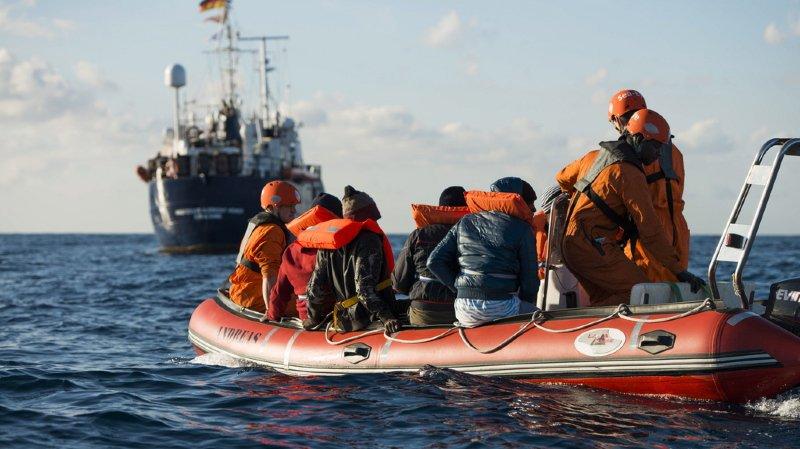 Les premiers migrants ont été secourus il y a près de trois semaines déjà (archives).