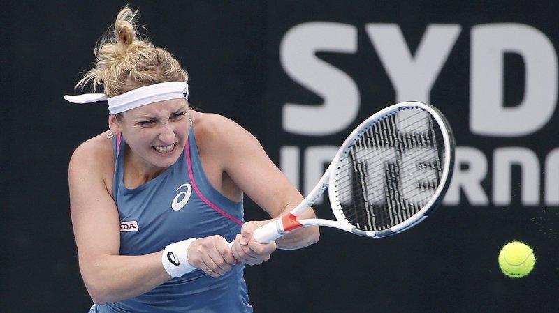 """Timea Bacsinszky figurait au 745e du """"ranking"""" de la WTA il y juste cinq mois."""