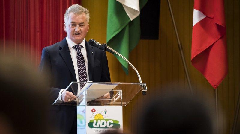 Pascal Dessauges est le candidat de l'UDC.