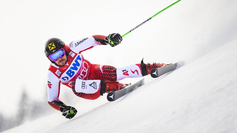 Ski alpin: Hirscher remporte le géant d'Adelboden, Caviezel 9e
