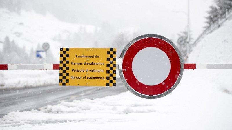 Avalanches: le niveau d'alerte redescend au niveau 4, mais la neige représente toujours un danger